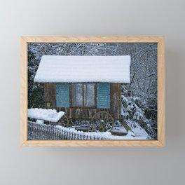 Stable On Wheels Framed Mini Art Print