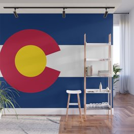 Colorado Flag Wall Mural