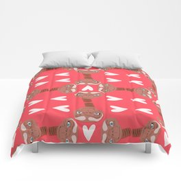 phone home Comforters