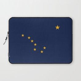 Flag of Alaska - Authentic High Quality Image Laptop Sleeve