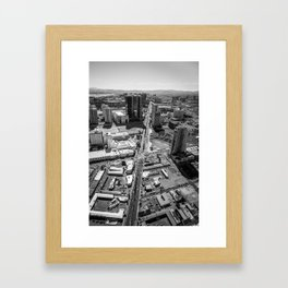 Vegas Strip Framed Art Print