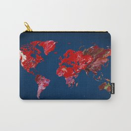 World Map 4 Carry-All Pouch