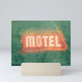 Old Motel Mini Art Print