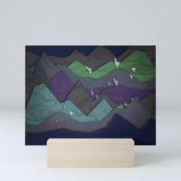 Mountain Layers Mini Art Print