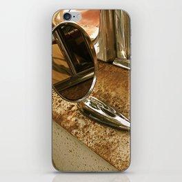 Rust and Chrome iPhone Skin