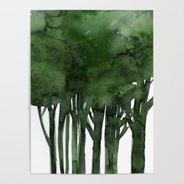 Tree Impressions No.1C by Kathy Morton Stanion Poster