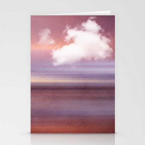 TIME AND SILENCE Stationery Cards
