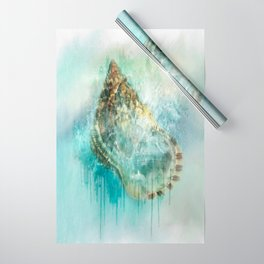 Shell Splash Wrapping Paper