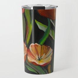 Flowers in Keukenhof Travel Mug