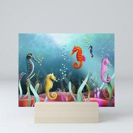 Sea Horse Ranch Mini Art Print