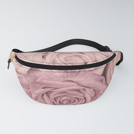 Some People Grumble - Pink Rose Pattern - Roses Fanny Pack