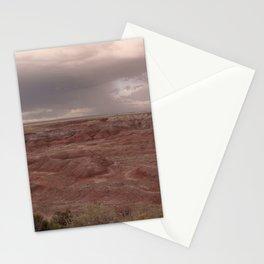Desert Rain Clouds Stationery Cards