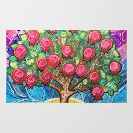 Pomegranate Tree Rug