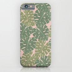 Monstera leaves Slim Case iPhone 6s