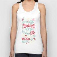 risa rodil Tank Tops featuring Fandom Life by Risa Rodil