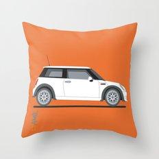 Mini Cooper Throw Pillow
