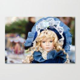porcelain doll Canvas Print
