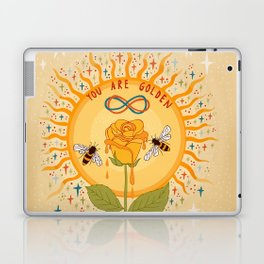 You are golden Laptop & iPad Skin
