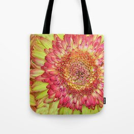 Flower yallow pink Tote Bag