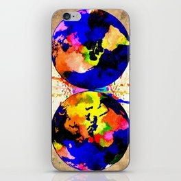 Earth Grunge iPhone Skin