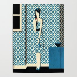 Miss camouflage Poster