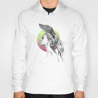 the hound Hoodies featuring The Hound by eDrawings38