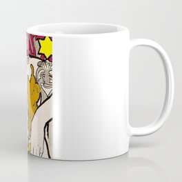 Vintage Alphonse Mucha Poster Girl Coffee Mug