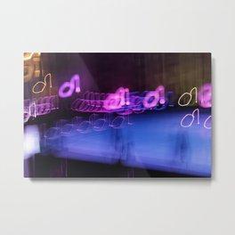 Ibiza Vibes - JUSTART © Metal Print