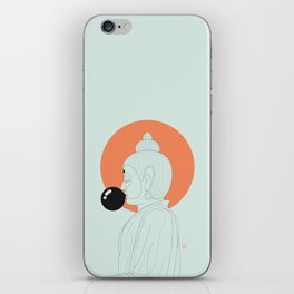 Buddha : Concentrate on the Void! iPhone Skin