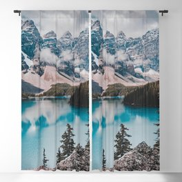 Banff national park Blackout Curtain