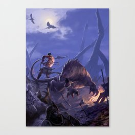 THE BEASTMASTER Canvas Print