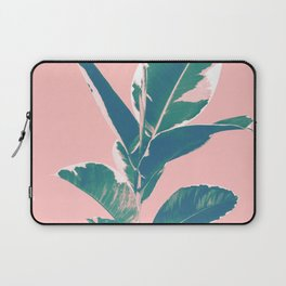Ficus Elastica Finesse #3 #tropical #foliage #decor #art #society6 Laptop Sleeve