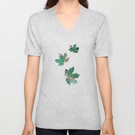 Abstract #8: Magic Forest Unisex V-Neck