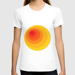 I'm eccentric type ( Psychedelic theme ) T-shirt