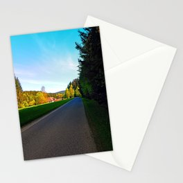 Country road on a spring afternoon | landscape photography Stationery Cards