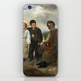 Edouard Manet, The Old Musician, 1862 iPhone Skin