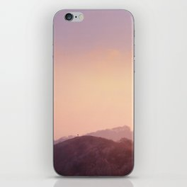 Alone at Sunset iPhone Skin
