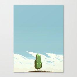 Little Rock Canvas Print