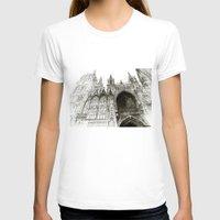 takmaj T-shirts featuring Rouen facade by takmaj