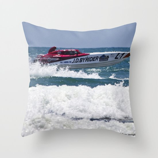 Need for Speed Throw Pillow
