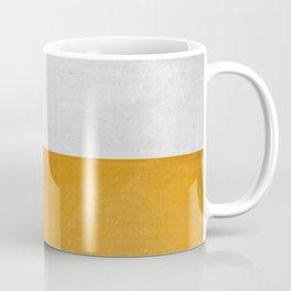 Wabi Sabi - Gold and Grey Texture Coffee Mug