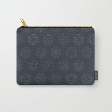 Geocircles (Blue II) Carry-All Pouch