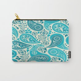 Paisley Pattern Boteh Buta Droplet Abstract Carry-All Pouch