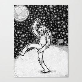 Skellynaut Canvas Print