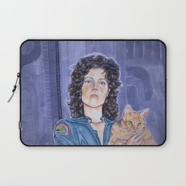 In Space No One Can Hear Your Cat Laptop Sleeve