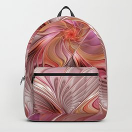 Abstract Butterfly, Fantasy Fractal Backpack