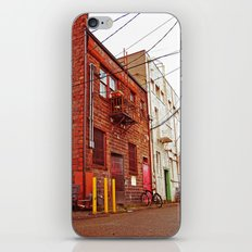 Alley architecture iPhone Skin