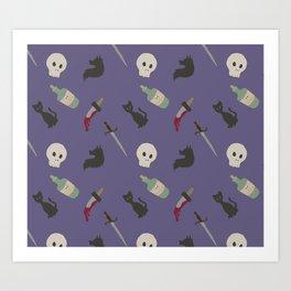Stabby stab Art Print