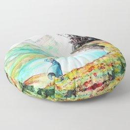 """""""Into my dreams"""" Floor Pillow"""