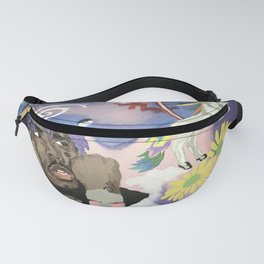 Luv Is Rage Fanny Pack